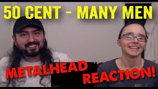 Many Men - 50 Cent (REACTION! by metalheads)