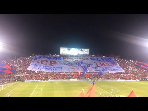 Recibimiento Cerro Porteño vs Nacional de Medellín (01/11/16) - La Plaza y Comando - Cerro Porteño