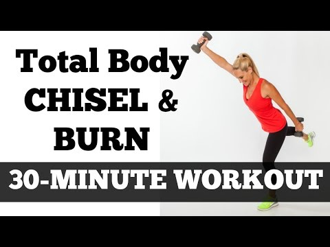30-Minute Total Body Fat Burning Workout Video | Chisel & Burn