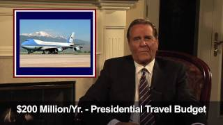 http://www.SaveUsChuckWoolery.com Game show legend Chuck Woolery discusses his thoughts on how to cut government...