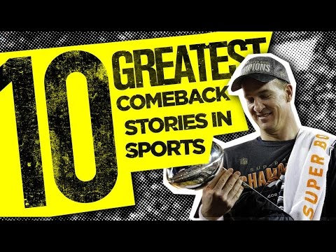 10 GREATEST Comeback Stories In Sports (видео)