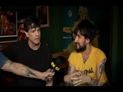 Jóvenes Pordioseros video Entrevista CM Rock - Nov 2014