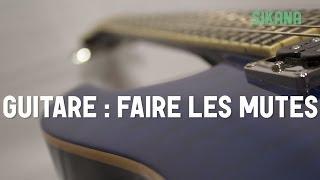 Cours De Guitare : Faire Les Mutesà La Guitare électrique - HD