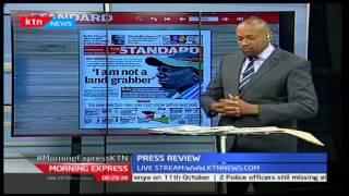 William Ruto: Am not a land grabber