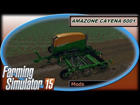 AMAZONE CAYENA 6001 v1.0 Direktsaat