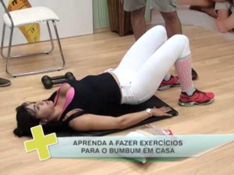 +Saúde na TV - Exercícios pra fazer em casa
