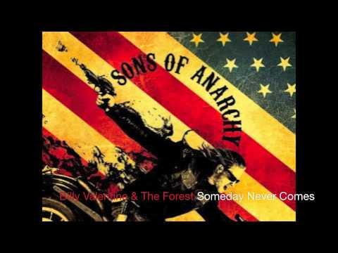 Tekst piosenki Billy Valentine  - Someday Never Comes  & The Forest Rangers po polsku