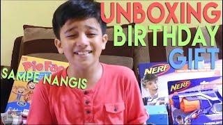Video Fadhel Unboxing Birthday Gift Sampe Nangis   Kids Brother MP3, 3GP, MP4, WEBM, AVI, FLV November 2018