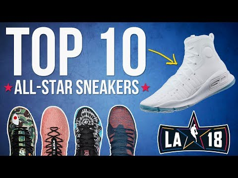 Top 10 Sneakers of the 2018 NBA All-Star Weekend