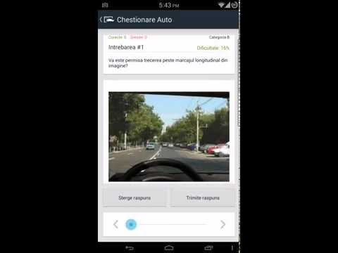 Video of Chestionare Auto
