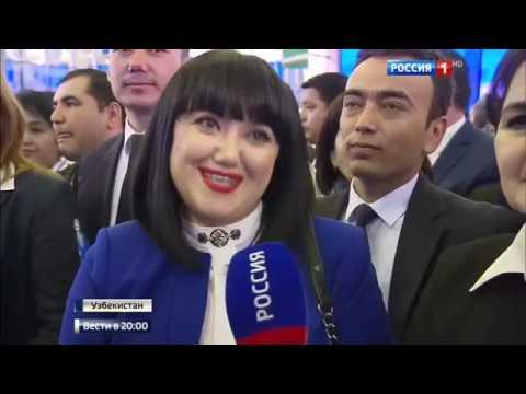 Приглашение в Москву  новый президент Узбекистана заговорил по русски - DomaVideo.Ru