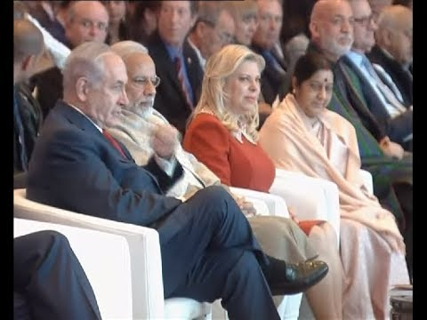PM and Israeli PM Benjamin Netanyahu attends Raisina Dialogue 2018