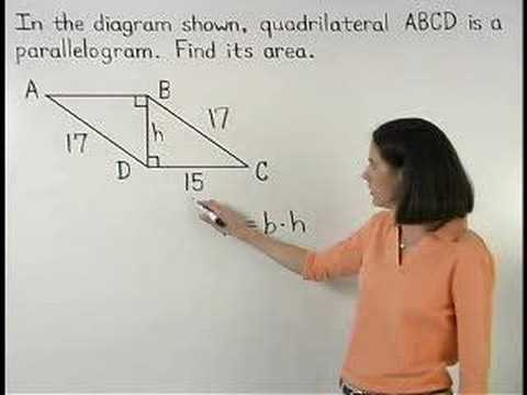 Area of Parallelogram Video