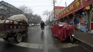 Jinan China  city photos gallery : Caril bici de Jinan, China. 6 de enero de 2016.