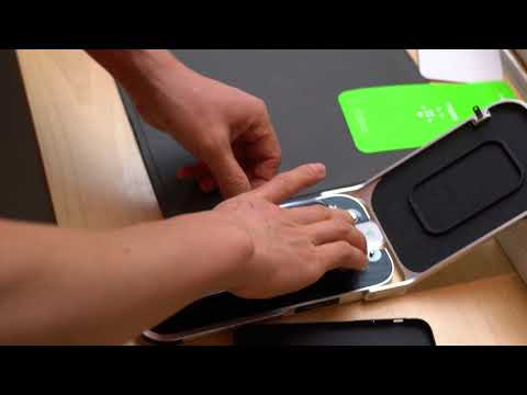 Belkin iPhone X screen protector machine