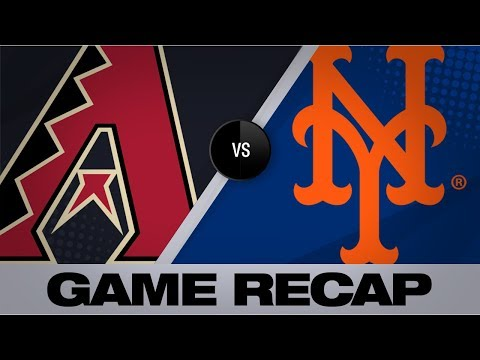 Video: Mets score 9 runs on 11 hits in shutout | D-backs-Mets Game Highlights 9/11/19