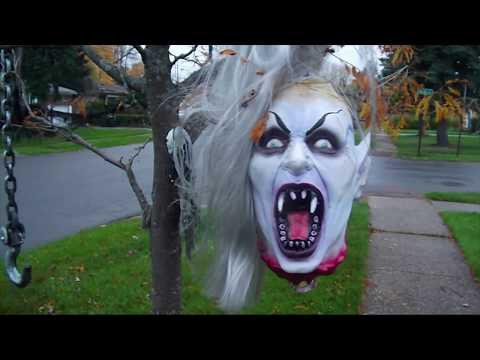 HALLOWEEN Decorations Display - Monsters, Ghouls, Vampires, Skeletons & Clowns