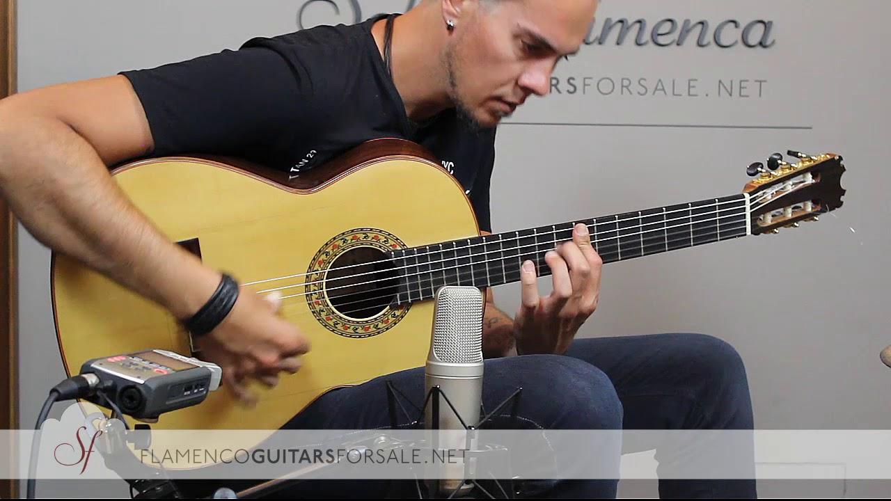 VIDEO TEST: Peña Vargas Mod. Malagueña 2017 flamenco guitar for sale