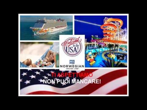 Video PROGETTO VISIT USA@SEA Napoli Civitavecchia Livorno (13 14 15/9/2016)