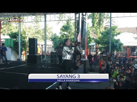 Video Sayang 3 - Nella Kharisma - Lagista Live SMAN 1 Wates 2018 download in MP3, 3GP, MP4, WEBM, AVI, FLV January 2017