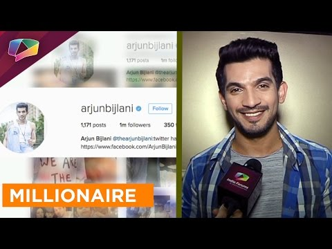 Arjun Bijlani Now Has A Million Followers
