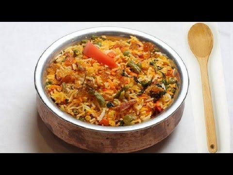 Vegetables Biryani