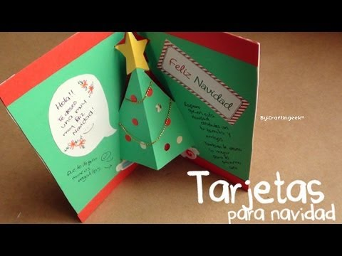 Taller de tarjetas navide as para ni os biblioteca - Como hacer targetas de navidad ...
