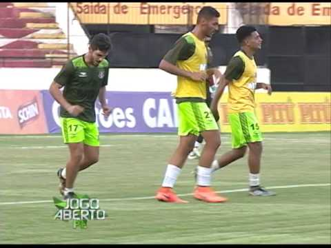 [JOGO ABERTO PE] Santa Cruz: Everton Santos vai ser titular no jogo contra o Guarani
