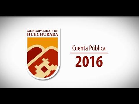 Frente a la masiva asistencia de los vecinos de Huechuraba se realizó la tradicional Cuenta Pública 2016 en el Polideportivo Marichiweu. En Alcalde Carlos Cuadrado Prats resaltó las obras de su gestión desarrolladas durante el 2016.