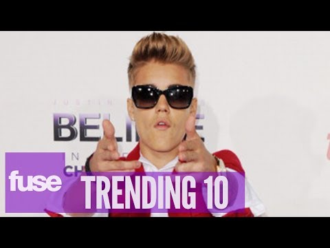 Happy Valentine's Day From Justin Bieber! – Trending 10 (02/14/14)