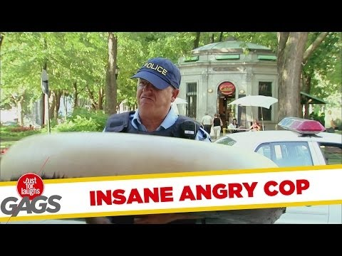 Angry Cop Goes INSANE for Donuts - Youtube