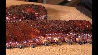 Brown Sugar Apple Wood BBQ Spare Ribs by Ballistic BBQ