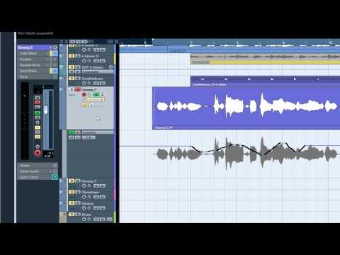 Cubase tutorial about automation (technical tipps)