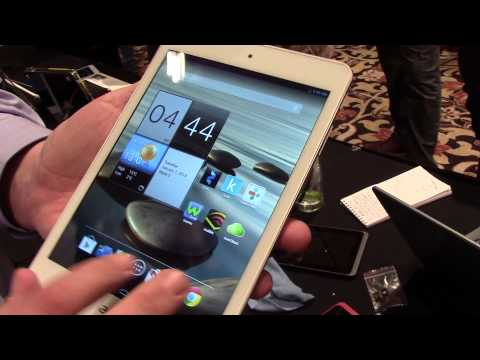 Hands on with the Acer A1 tablet at CES 2014