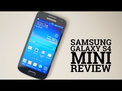 Samsung Galaxy S4 Mini test
