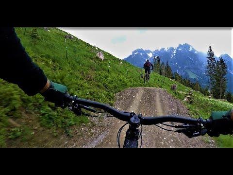 (cz) Bikepark Leogang Flow Link 2018