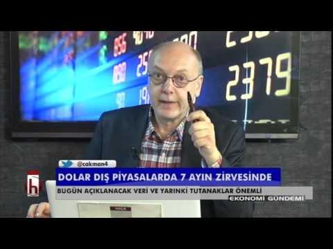 171115 Dr. Cüneyt Akman'la Piyasalar: Dolar dış piyasalarda 7 ayın zirvesinde...