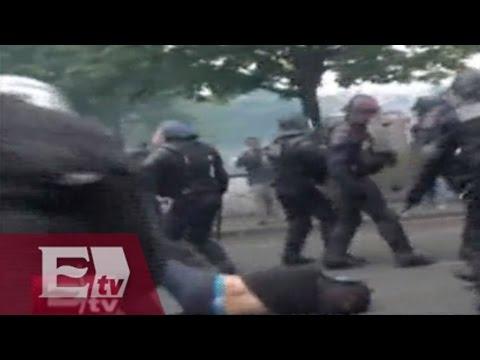Protestas en Francia contra reforma laboral