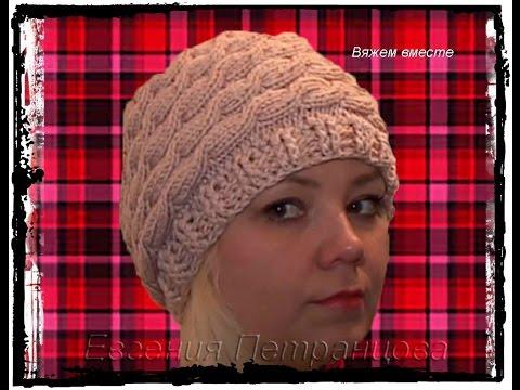женская весенняя шапка косами !!! – Women's spring hat braids !!!
