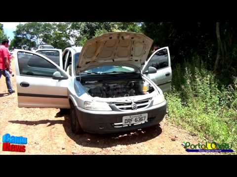 Carro utilizado em rouba na cidade de Guaraniaçu é encontrado pela Polícia