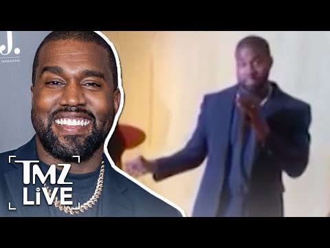 Kanye Rents Out Burberry Store To Preview New Video   TMZ Live