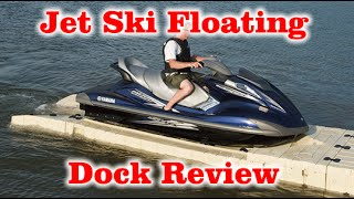 4. Review of Jet Ski Floating Boat Lift wave armor dock