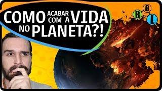 Será possível acabar com toda a vida no planeta? De que forma isso poderia acontecer? Qual o maior cenário apocalíptico para a vida na terra?Conheça o Canal do Slow: https://www.youtube.com/canaldoslowCurta a Página BláBláLogia: https://goo.gl/KyCsMB Slow no Twitter: @EstevaoSlowPNos siga no Twitter: @BlaBlalogiaReferências:- Vídeo do Pirula sobre extinções em massa:https://www.youtube.com/watch?v=vMEIwHQsP-Y- Artigo original da Nature:https://www.nature.com/articles/s41598-017-05796-x - Science sobre o assunto:http://www.sciencemag.org/news/2017/07/what-it-would-take-kill-all-life-earth - Meu vídeo sobre as bactérias que utilizam radiação:https://www.youtube.com/watch?v=rGFEOGZ6lGA&index=19&list=PLHfgE2s-0YX2vXuklbsfxea1rEXc1Y6zD - Meu vídeo sobre tardígrados no espaço:https://www.youtube.com/watch?v=m5OU-pAIYLA&index=21&list=PLHfgE2s-0YX2vXuklbsfxea1rEXc1Y6zD Não se esqueça de curtir e compartilhar!Nós nos vemos no próximo vídeo!Um grande abraço! o/********************************************************************Este canal faz parte do Science Vlogs Brasil, um selo de qualidade colaborativo que reúne os divulgadores de ciência mais confiáveis do Youtube Brasil. Conheça todos os canais: youtube.com/c/sciencevlogsbrasilNão há intenção de infringir direitos autoraisTodas as imagens utilizadas nesse vídeo são criações originais ou de propriedade dos autores e foram utilizadas sob a conformidade da lei de Direitos Autorais, Capítulo IV, Artigo 46 onde materiais protegidos podem ser utilizados parcialmente com finalidade de notícia ou de artigo informativo, crítica e paródia. A utilização das imagens também estão sob conformidade de Uso Justo (Fair Use).All rights belong to their respective owners. All visual material was originally created or obtained from official advertisement of each specific subject. This material is in conformation with Fair Use: Criticism and comment, News reporting, Research and scholarship, Educational uses, Parody; as described at Copyright