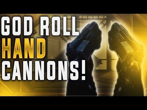 Destiny MY NEW FAVORITE TOYS IN PVP! (Two Tap Hand Cannons)