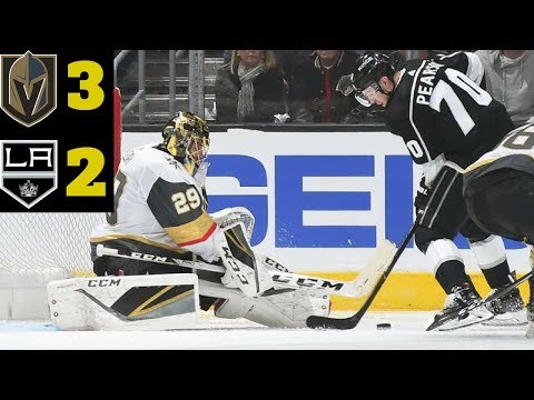 Las Vegas Golden Knights VS Los Angeles Kings Game 3 l April 15th 2018 l VGK win 3-2