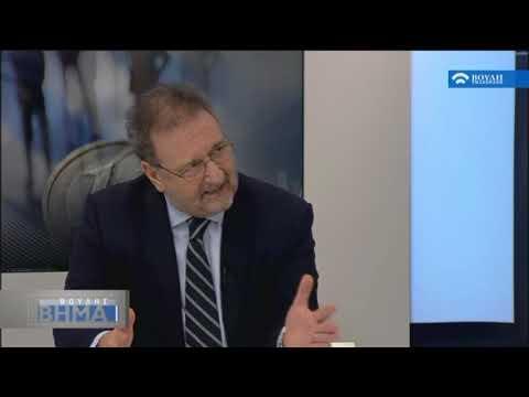 Ο Υφυπουργός Οικονομίας και Ανάπτυξης  Σ.Πιτσιόρλας συζητά για την ελληνική οικονομία.(30/11/2017)