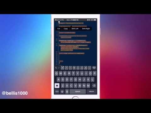 UIWebViews In Theos | IOS 9 App…
