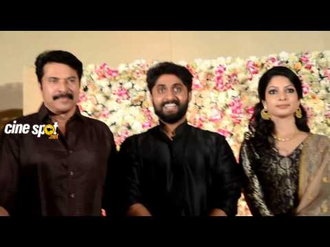 Video Mammootty at Dhyan Srenivasan Wedding Reception download in MP3, 3GP, MP4, WEBM, AVI, FLV January 2017