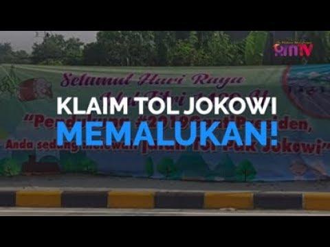 Klaim Tol Jokowi, Memalukan!