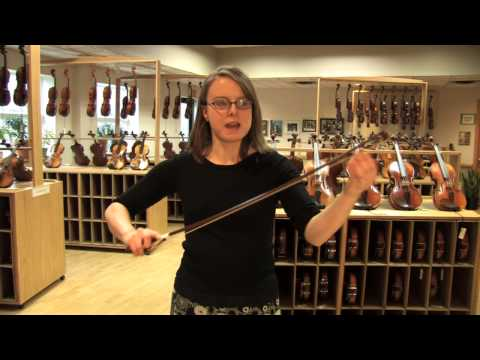The basics of bow rosining